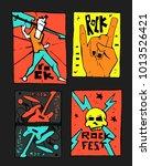 rock  blues music festival... | Shutterstock .eps vector #1013526421