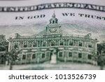 fragment of dollar back | Shutterstock . vector #1013526739