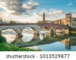 Verona Cityscape View On The...
