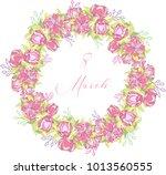 international women's day... | Shutterstock .eps vector #1013560555
