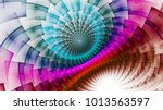 rainbow protective magnetic...   Shutterstock . vector #1013563597
