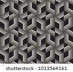vector seamless pattern. modern ... | Shutterstock .eps vector #1013564161