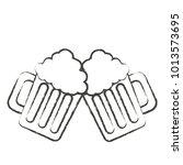beer jar icon image | Shutterstock .eps vector #1013573695