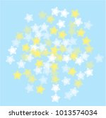 snowflake winter which consists ... | Shutterstock .eps vector #1013574034