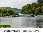 Small photo of Krasivaya Mecha River in Russia. Tulskiy region, Efremov district