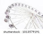 empty ferris wheel | Shutterstock . vector #1013579191