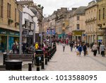 inverness  scotland  uk   july... | Shutterstock . vector #1013588095