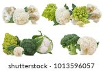 Fresh Cauliflower Romanesco And ...