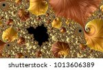 abstract computer generated... | Shutterstock . vector #1013606389