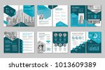 brochure creative design.... | Shutterstock .eps vector #1013609389