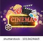 Cinema Movie Vector Poster...