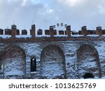 Ancient Fortress Wall In The...
