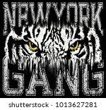 animal for t shirt graphic | Shutterstock .eps vector #1013627281
