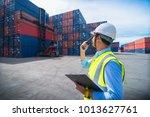 foreman control loading... | Shutterstock . vector #1013627761