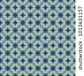 seamless geometric pattern with ... | Shutterstock .eps vector #1013631157