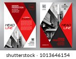 business brochure. flyer design.... | Shutterstock .eps vector #1013646154