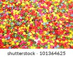 sweet color candies decoration background - stock photo