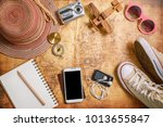 travel plan  trip vacation ... | Shutterstock . vector #1013655847