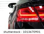 rear premium car flashlight ... | Shutterstock . vector #1013670901