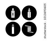 personal vaporizer e cigarette... | Shutterstock .eps vector #1013693605