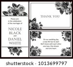 invitation with floral...   Shutterstock .eps vector #1013699797