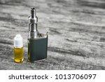 e   cigarette for vaping  ... | Shutterstock . vector #1013706097