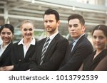 group of business people....   Shutterstock . vector #1013792539