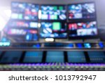 professional sound engineer's... | Shutterstock . vector #1013792947