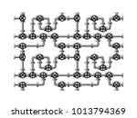image of piping composed  of... | Shutterstock .eps vector #1013794369