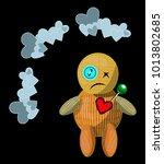 vector isolated illustration...   Shutterstock .eps vector #1013802685