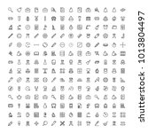 university icon set. collection ... | Shutterstock .eps vector #1013804497