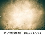 old grungy empty paper... | Shutterstock . vector #1013817781