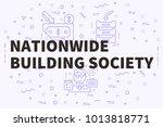 conceptual business... | Shutterstock . vector #1013818771