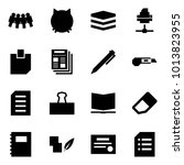 origami style icon set  ... | Shutterstock .eps vector #1013823955