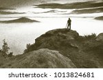 copy of old lithographic... | Shutterstock . vector #1013824681