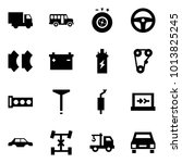 origami style icon set   car... | Shutterstock .eps vector #1013825245