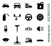 origami style icon set   car... | Shutterstock .eps vector #1013832325
