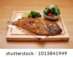 Small photo of Japanese food - grilled flounder