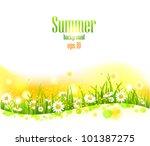 Bright Summer Flowers ...