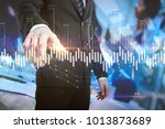 investment and finance concept. ... | Shutterstock . vector #1013873689