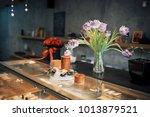 nourishing tasty pastries in... | Shutterstock . vector #1013879521