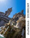 italy  rome  piazza navona | Shutterstock . vector #1013881369