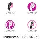 face beauty woman logo design | Shutterstock .eps vector #1013882677
