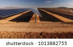close up of solar power panels  ... | Shutterstock . vector #1013882755