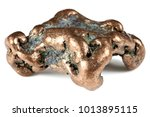 native copper nugget from...   Shutterstock . vector #1013895115