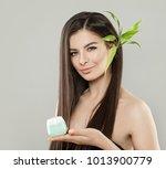 spa beauty portrait of healthy...   Shutterstock . vector #1013900779