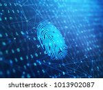 a computer identify and... | Shutterstock . vector #1013902087
