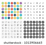 tools icons set | Shutterstock .eps vector #1013906665