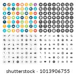 media icons set | Shutterstock .eps vector #1013906755