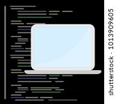programming and coding concept  ... | Shutterstock .eps vector #1013909605